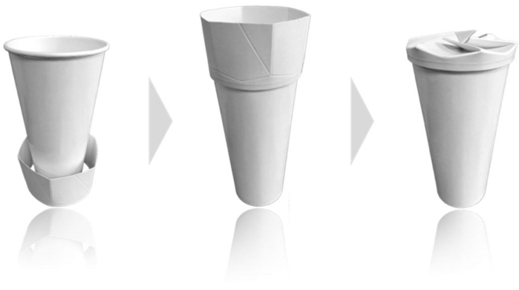 Easy-to-use in two easy steps for any standard cup